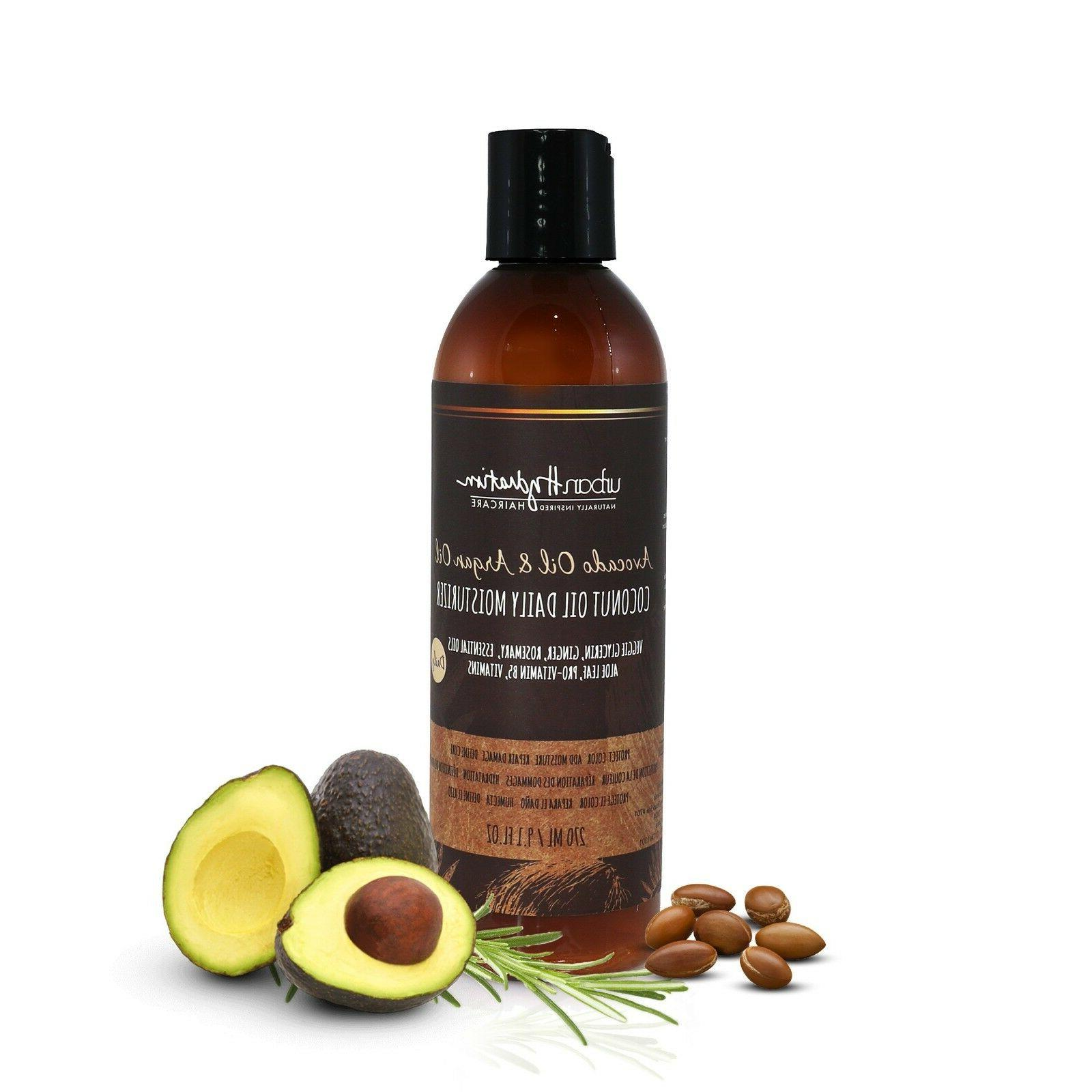 avocado and argan oil coconut oil daily