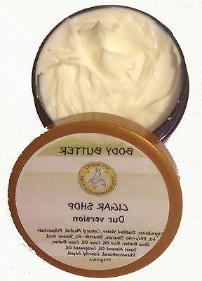 body butter scented 4 oz thick w