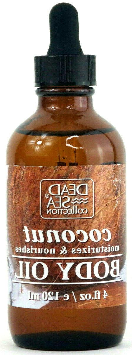 coconut body oil moisturizes and nourishes 4
