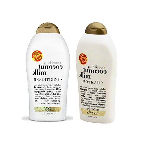 coconut milk shampoo conditioner