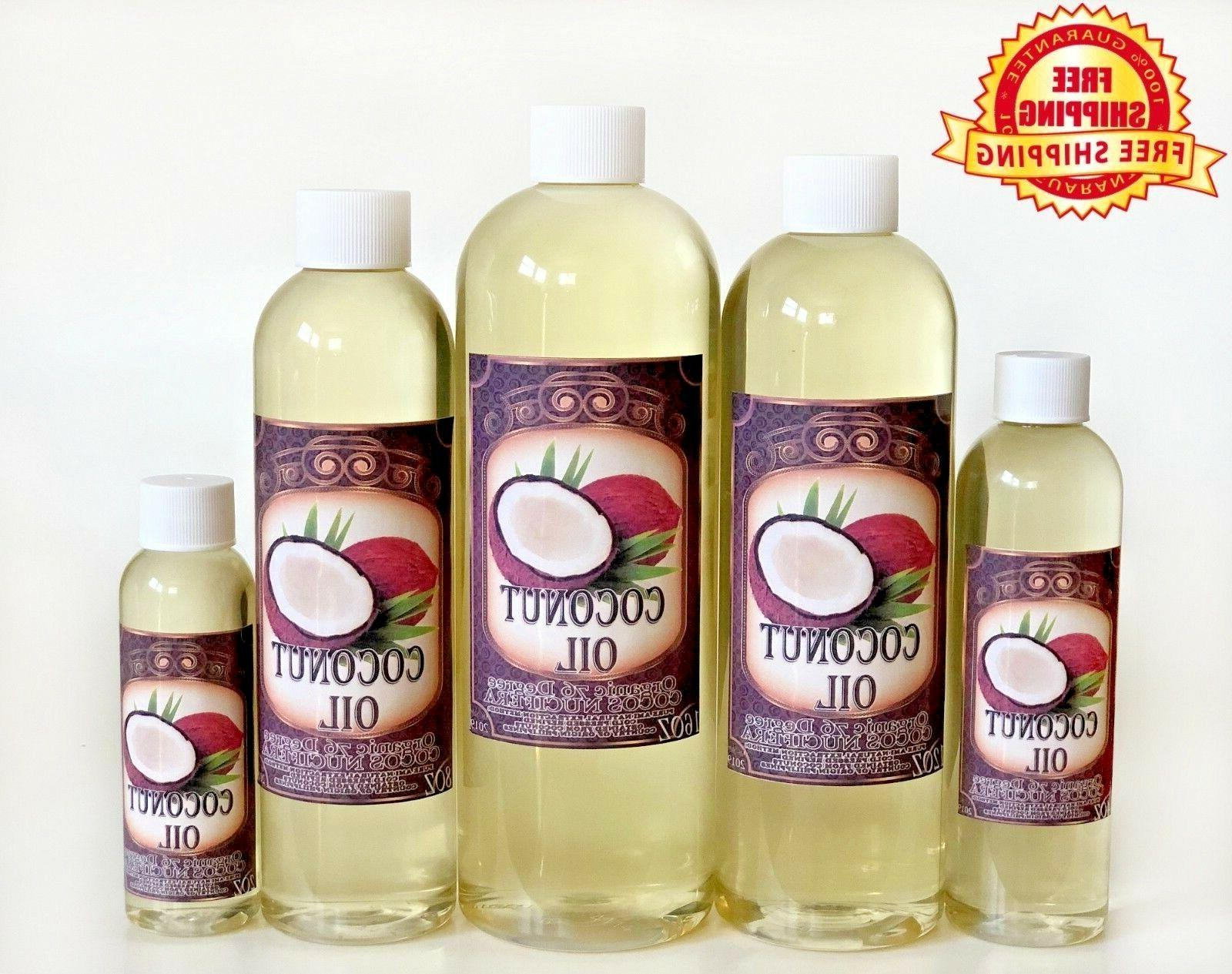 COCONUT OIL 76 DEGREE ORGANIC CARRIER REFINED COLD PRESSED 1