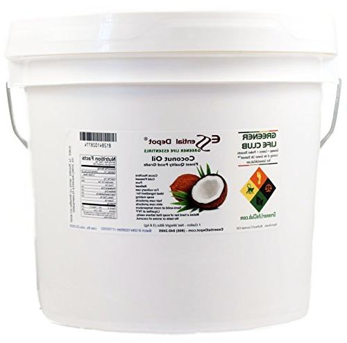 coconut oil finest quality food grade 8