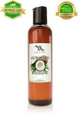 100 percent organic coconut oil fractionated natural