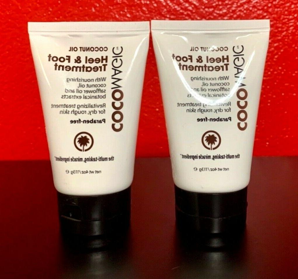 coconut oil heel and foot treatment 4
