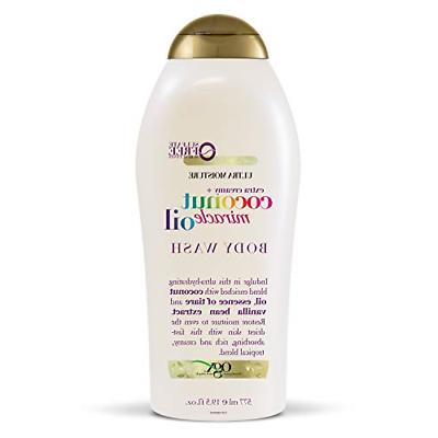 OGX BODY WASH COCONUT OIL MIRACLE 19.5 Ounce