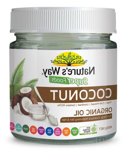 coconut oil organic 450g x 3 pack