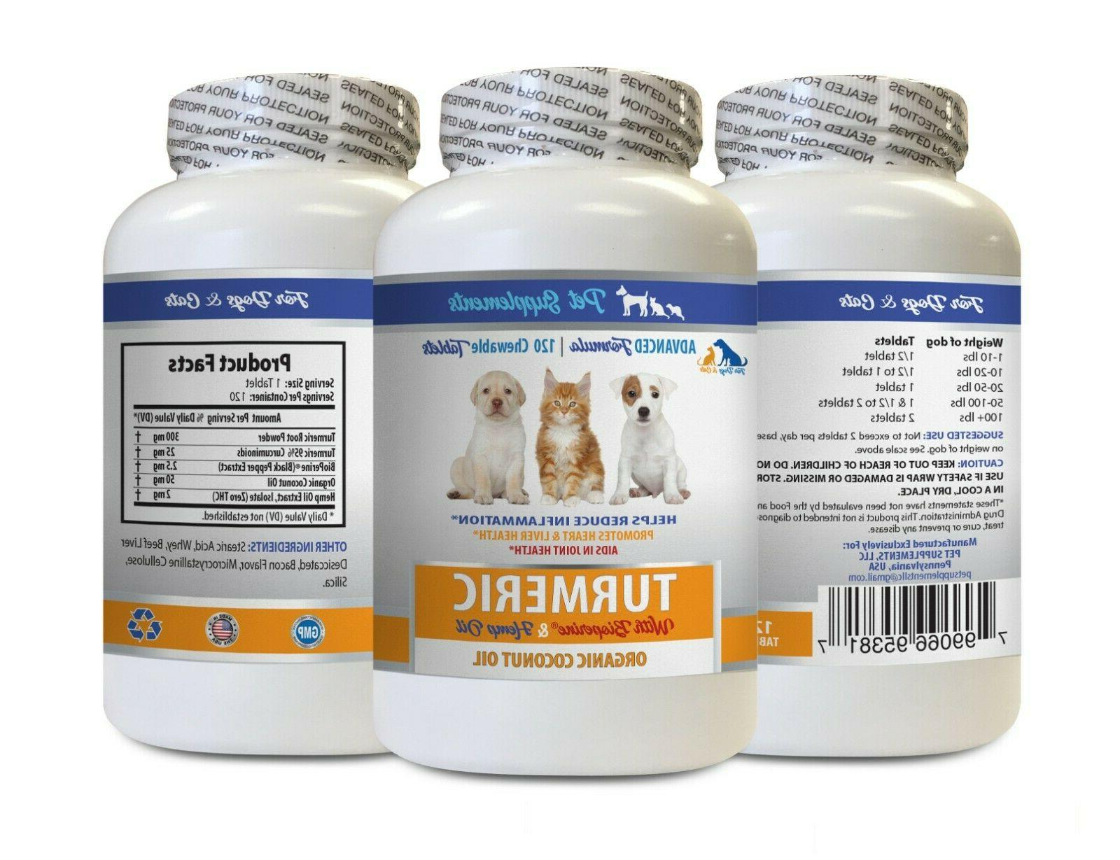 dog anxiety relief dog cat coconut