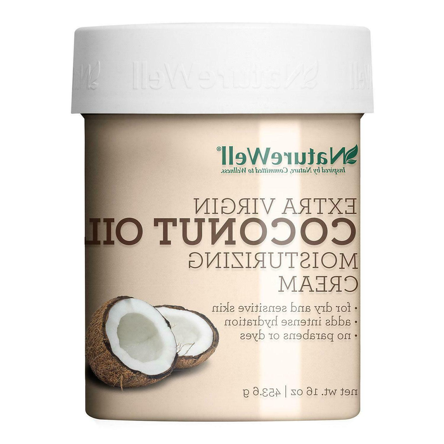 NatureWell Extra-Virgin Coconut Oil Moisturizing Cream
