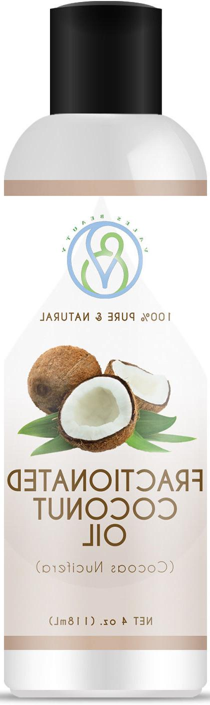 Fractionated Coconut 100% Natural For Skin, Hair & Massages