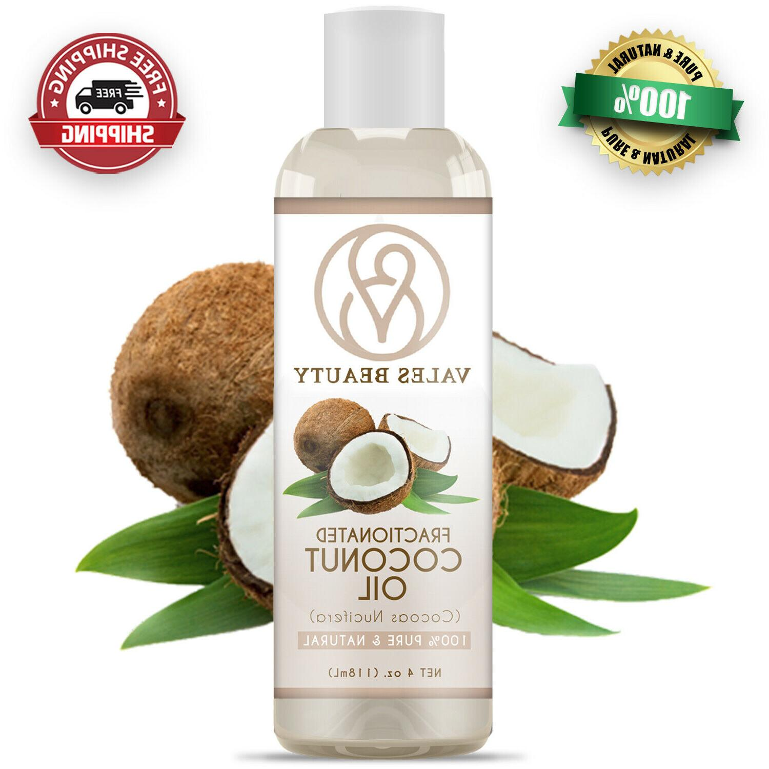 fractionated coconut oil 100 percent natural