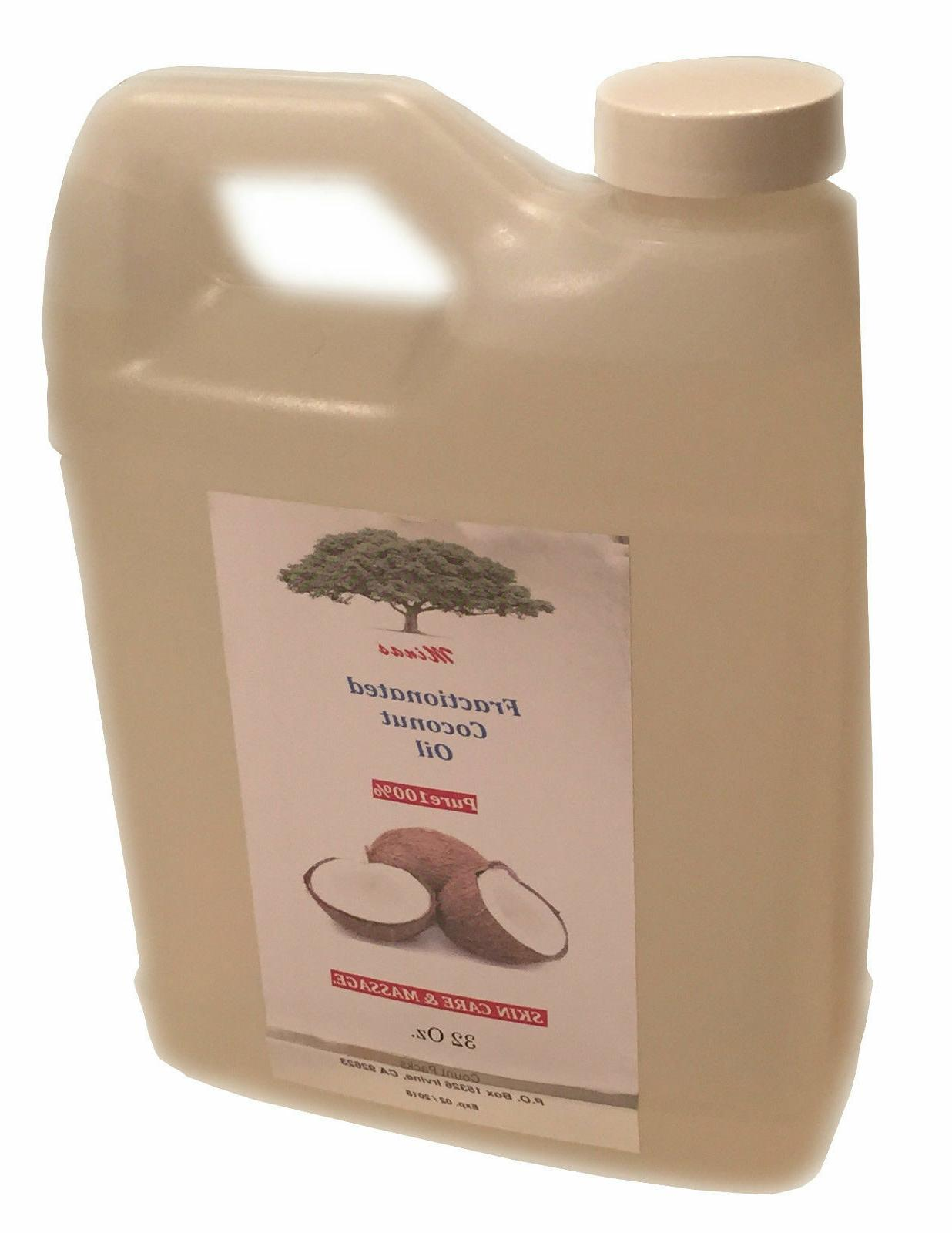 fractionated coconut oil 100 percent pure natural