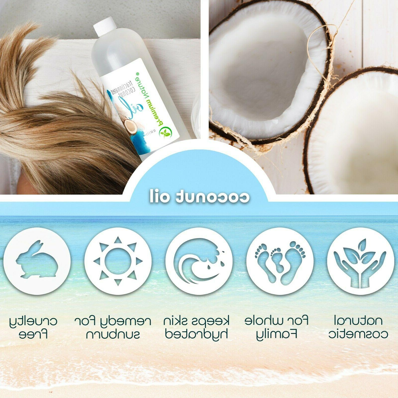 Coconut Fractionated Massage For Face Body Aromatherapy 16