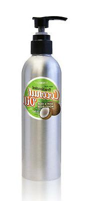Fractionated Liquid Coconut Oil Skin and Hair Moisturizer in