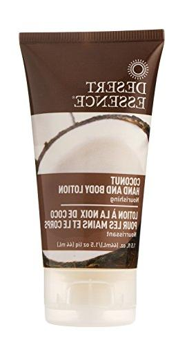 hand coconut travelsize