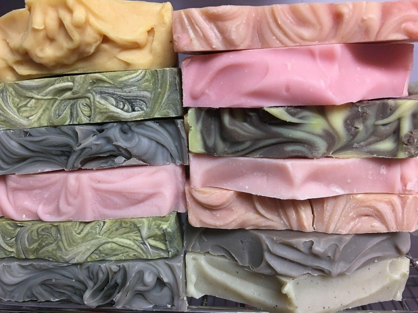handmade soap bars you pick scent coconut
