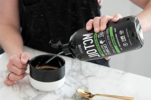 Premium Oil only from Non-GMO - bottle | Great Keto Coffee,Tea, Salad Dressings | Project Certified