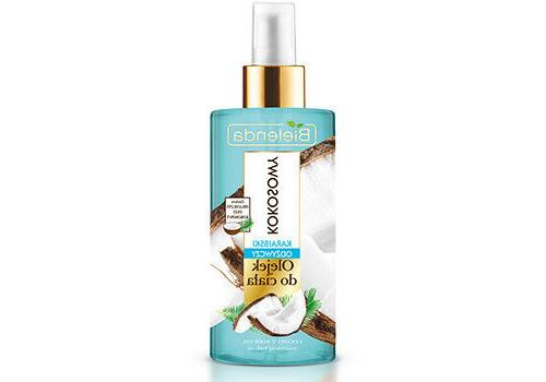 moisturizing organic coconut oil body spray mist