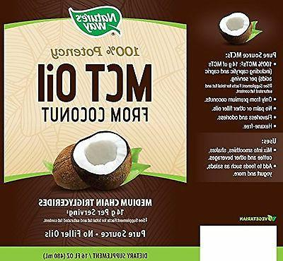 Nature's MCT Oil From Coconut 16
