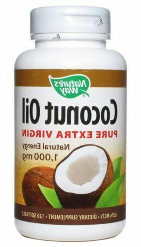 nature s way coconut oil 1000 mg