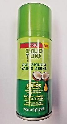 New ORS Olive Oil Nourishing Hair Sheen Spray infused with C