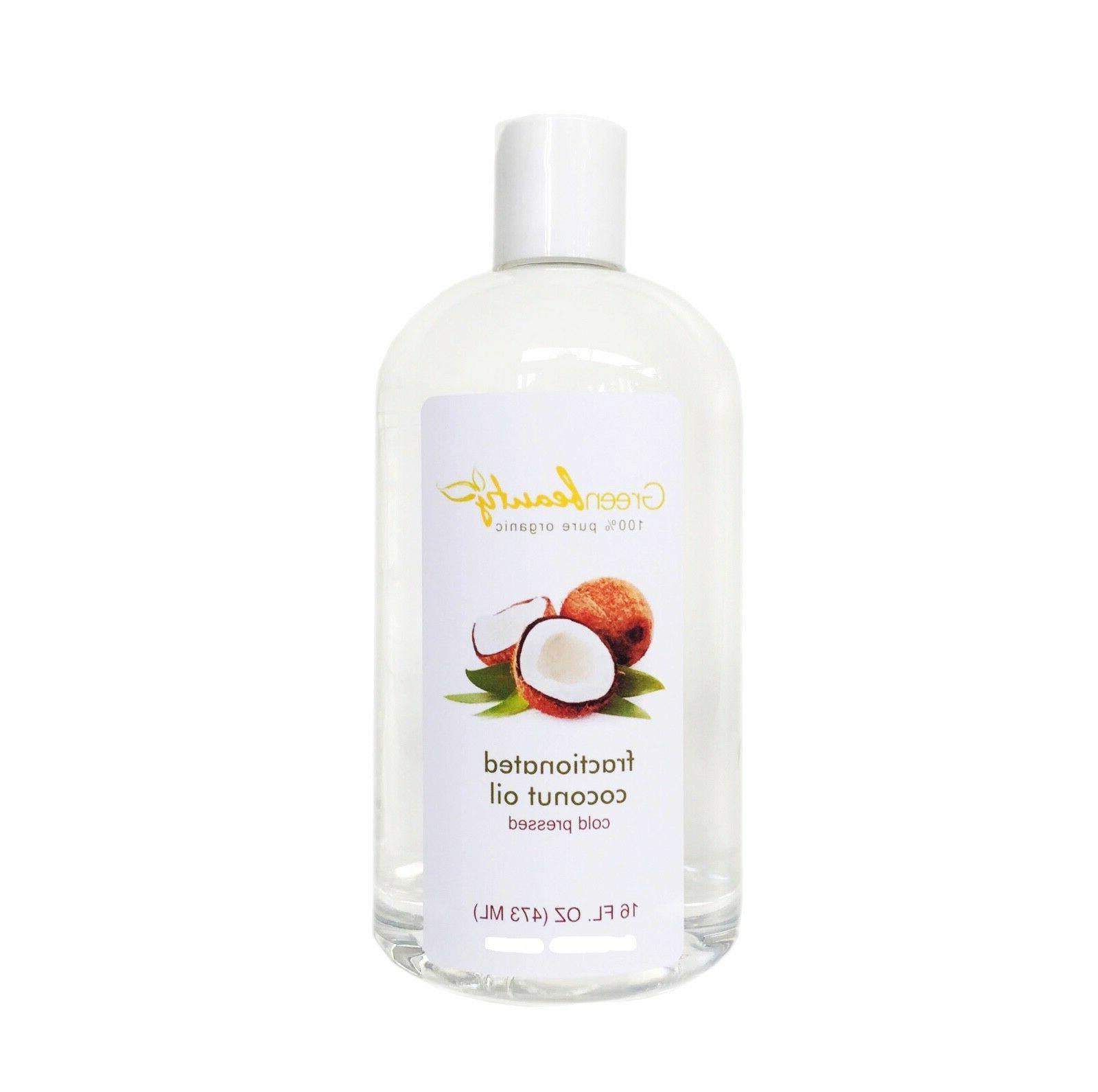 organic fractionated coconut oil cold pressed natural