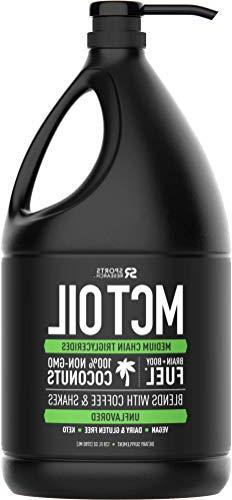 Premium MCT Oil Derived only from Non-GMO Coconuts - 128oz '