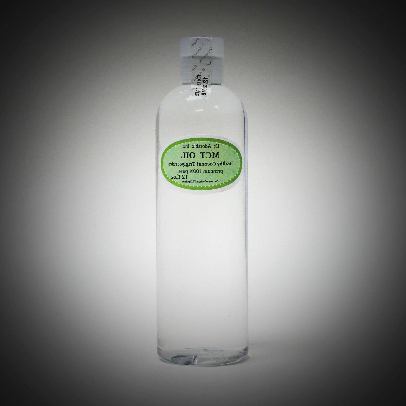 PURE MCT 100% COCONUT SOURCED NATURAL OZ TO GALLON