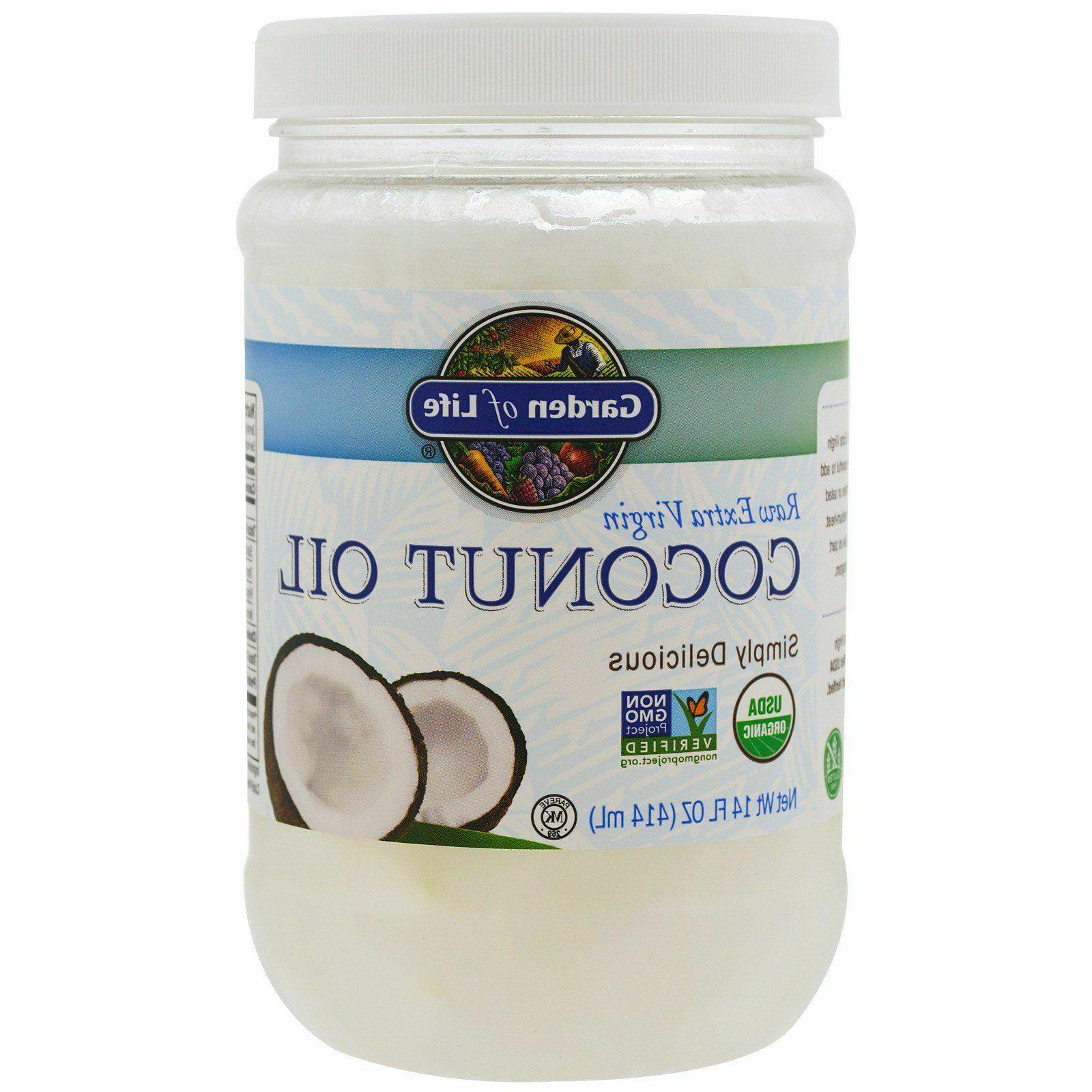 raw extra virgin coconut oil 14 fl