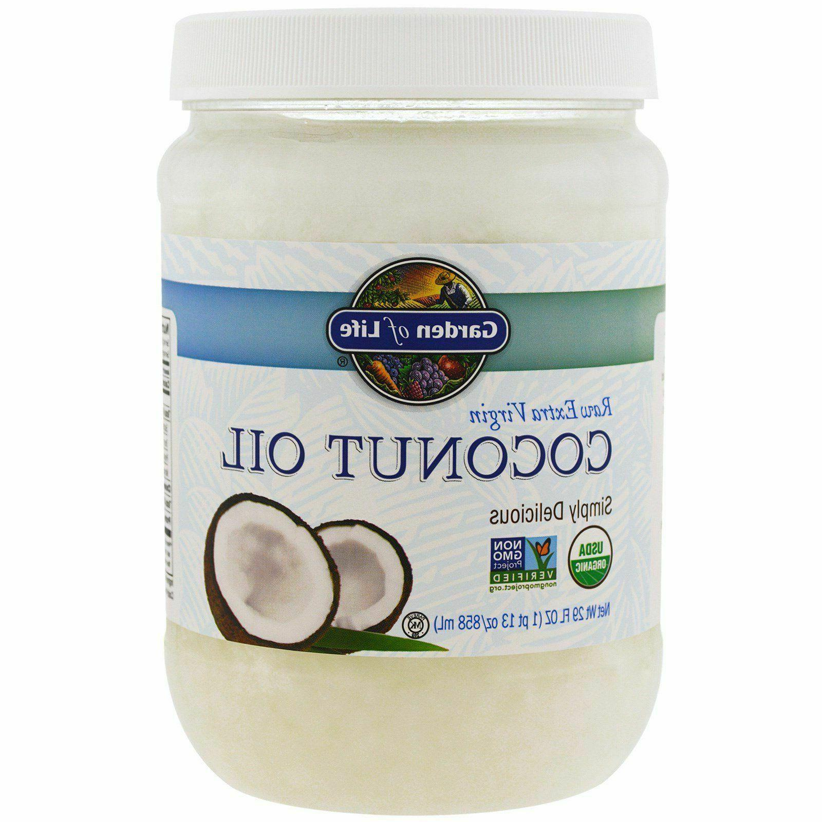 raw extra virgin organic coconut oil non