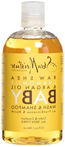 Sheamoisture Bby Shmpoo & Wash Raw She