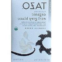 Tazo Flavored Organic Earl Grey Blanc Black Tea Blend, 20 Fi