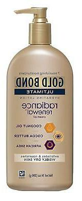 Gold Bond Ultimate Radiance Renewal, 14 Ounce Lotion With Co