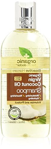 Organic Doctor Organic Virgin Coconut Oil Shampoo, 9 fl.oz.