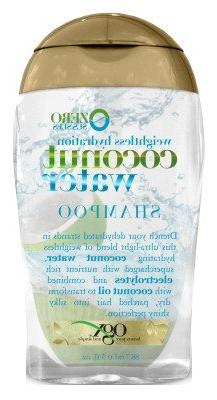 OGX Weightless Hydration Coconut Water Shampoo Conditioner T