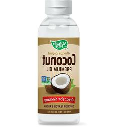 Liquid Coconut Oil 100% Organic Extra Virgin Unrefined Healt