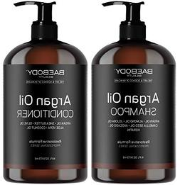 moroccan argan oil conditioner set