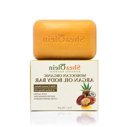 Moroccan Organic Argan Oil Body Bar w/Coconut Butter & India