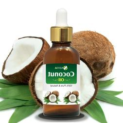 Coconut Oil Natural With Dropper 10ML To 100ML – Free Ship