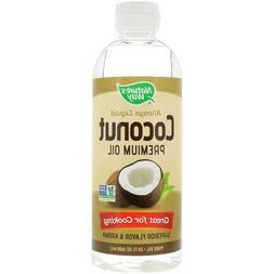 natures way liquid coconut premium oil 20