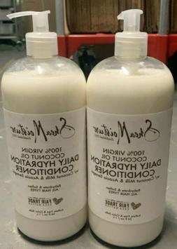 New- Shea Moisture 100% Virgin Coconut Oil Daily Hydration C