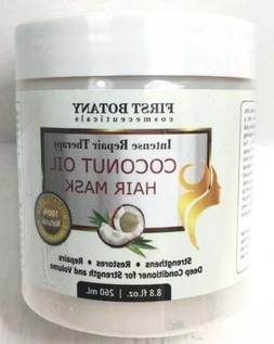 New First Botany Coconut Oil Hair Mask for Damaged & Dry Hai