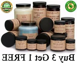 Organic Butter 100% Pure Raw Natural Cold Pressed For Skin F