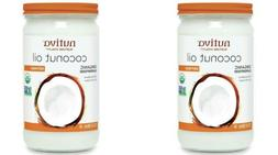 Nutiva, Organic Coconut Oil, Refined, 23 fl oz