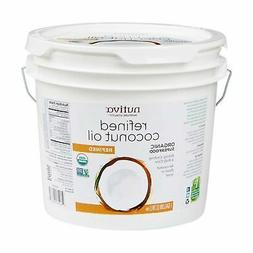 Nutiva Organic Coconut Oil Refined Superfood 1 Gallon  NEW F