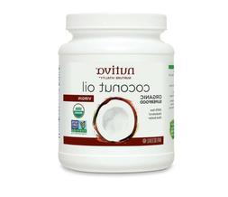 Nutiva, Organic Virgin Coconut Oil, 54 fl oz , Organic Super