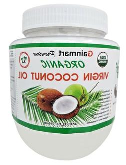 Gainmart Premium Organic Virgin Coconut Oil 100% Pure Highes