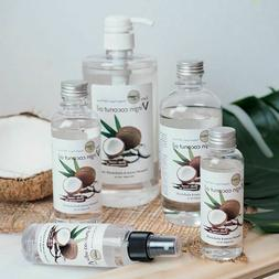 Organic Virgin Cold Coconut Oil 100% for Weight Loss Healthy