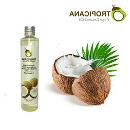 ORGANIC VIRGIN COLD PRESSED COCONUT OIL FOR SKIN , HAIR , OI