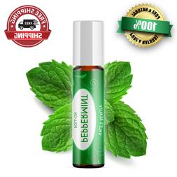 Peppermint Essential Oil Roll On Diluted With Coconut Oil Re