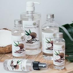 Premium Organic Virgin Coconut Cold Oil For Skin Hair Massag